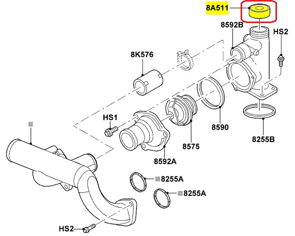 2004 Lincoln Aviator Cooling System Diagram Html