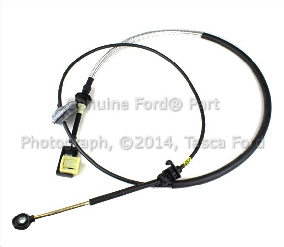 OEM TRANSMISSION SHIFT CONTROL CABLE 2004 FORD E250 E350