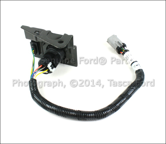 OEM TRAILER HITCH 4 & 7 PIN WIRING HARNESS 19992001 FORD