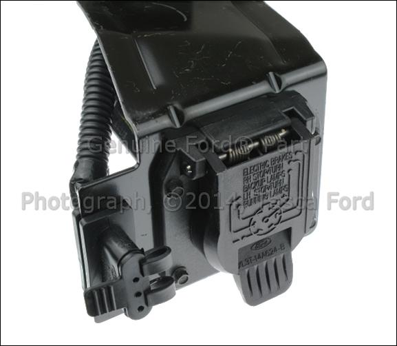 Trailer Hitch 4 7 Pin Wiring Harness 1999 2001 Ford F250 F350 F450