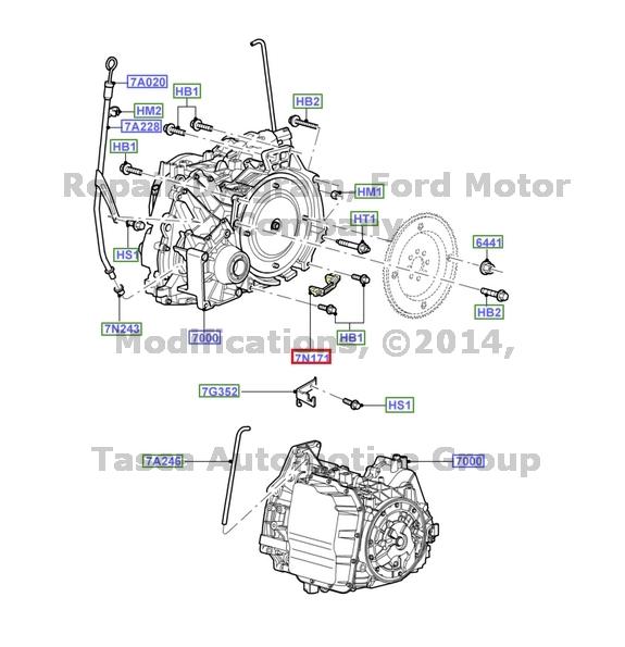 Marca nuevo OEM Convertidor de par Ojal Ford Escape