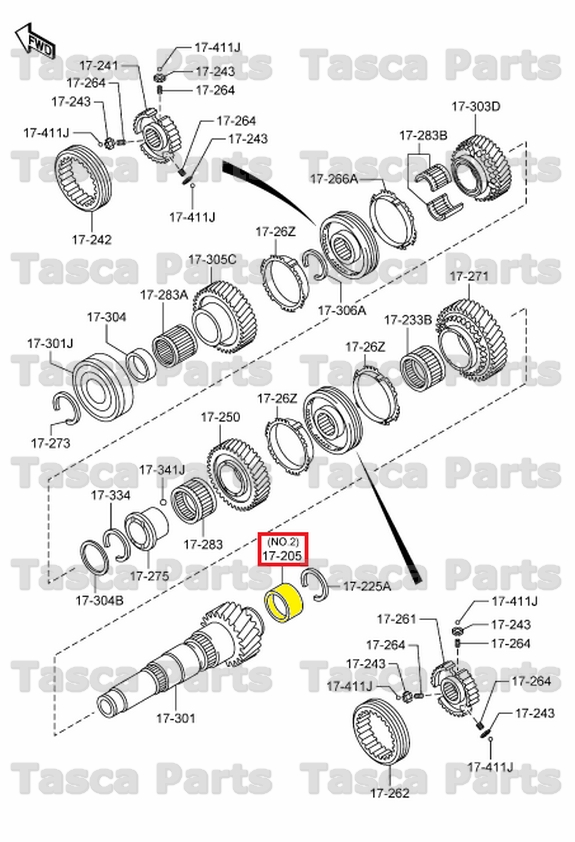 NEW OEM MANUAL TRANSMISSION CHANGE CONTROL BALL BEARING