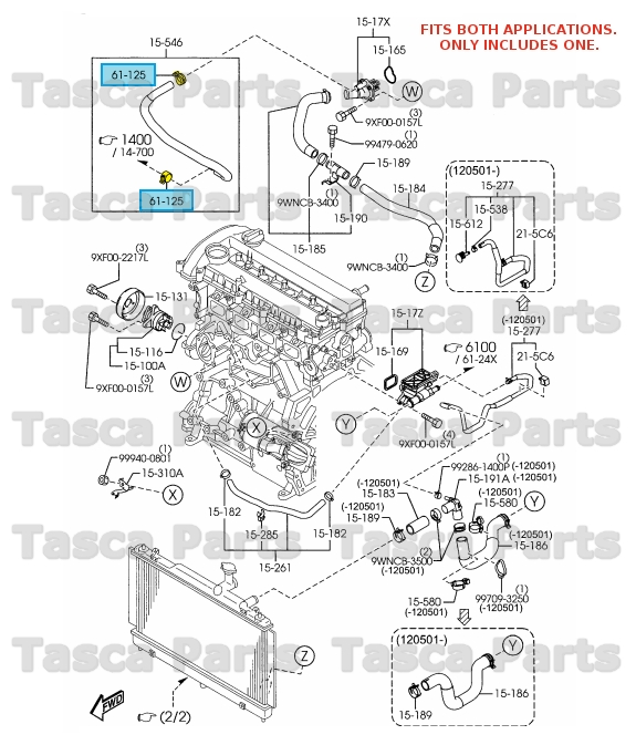 NEW OEM COOLING SYSTEM / HEATER / OIL PUMP HOSE CLAMP