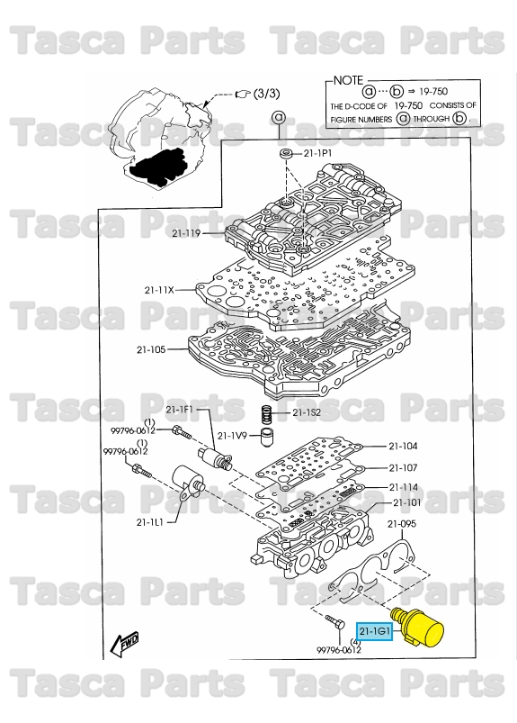 Mazda 3 2007 Transmission Control Valve Diagram. Mazda