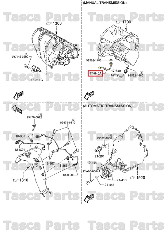BRAND NEW OEM MANUAL TRANSMISSION CASE PARK & NEUTRAL