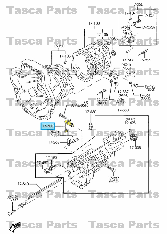 NEW OEM MANUAL TRANSMISSION CASE VEHICLE SPEED SENSOR 1998