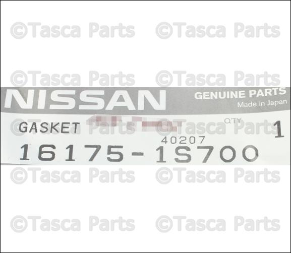 NEW OEM THROTTLE BODY GASKET 2.4L L4 NISSAN FRONTIER