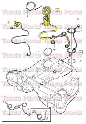 BRAND NEW OEM FUEL PUMP 20012009 VOLVO S60 S80 V70 V70XC