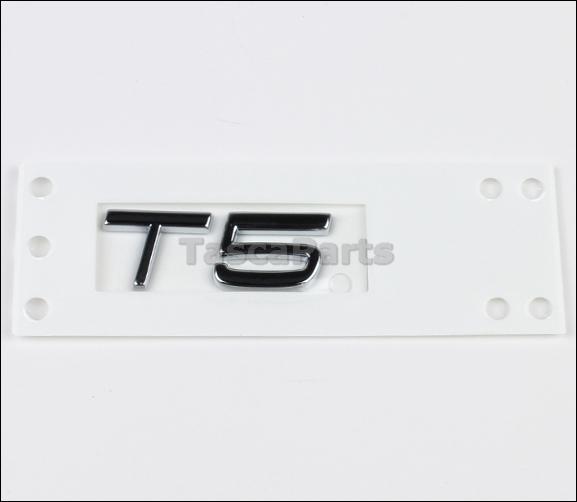 NEW OEM T5 EMBLEM VOLVO S80 V70 XC XC70 S60 S40 V40 S70
