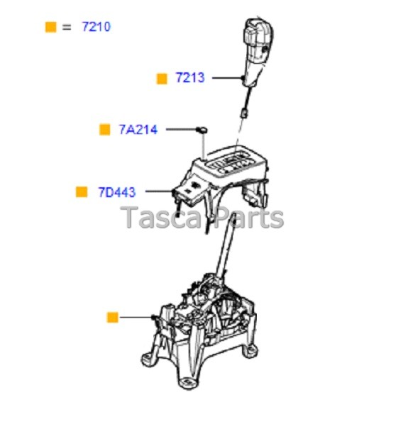 BRAND NEW OEM 6 SPEED AUTOMATIC GEAR SHIFT LEVER ASSEMBLY