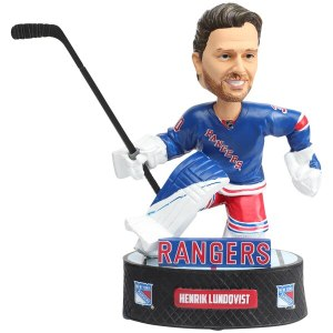 New York Rangers Henrik Lundqvist Baller Player Bobblehead