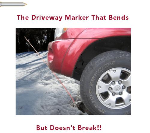 Rebound Driveway Marker