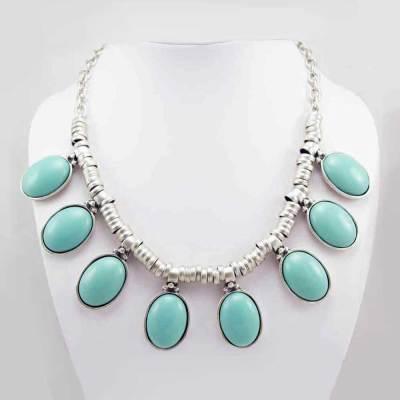 Wholesale Turquoise necklace.