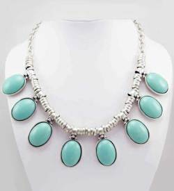 Wholesale Turquoise necklace.
