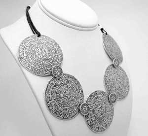 Turkish boho necklace