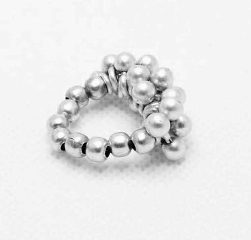 Silver wholesale ring.