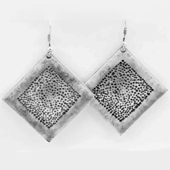 Turkish square earrings.