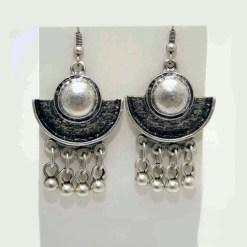Half moon earrings
