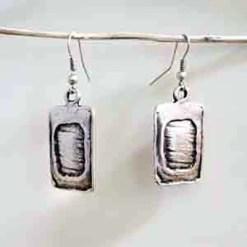 Shiny square Earrings