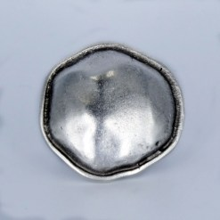 wholesale silver button ring