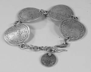 Turkish coin bracelet