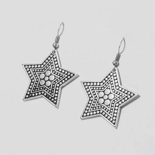 Wholesale fashion star earrings