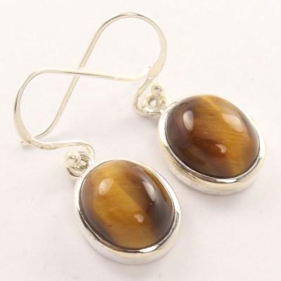 wholesale tiger eye earrings. wholesale gemstone jewellery