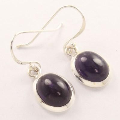 Wholesale earrings amethyst.
