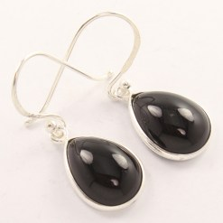 Wholesale black onyx earrings