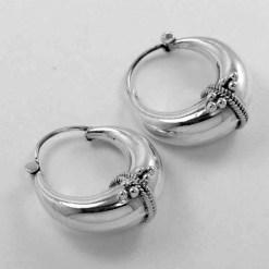 Solid 925 Silver Earrings