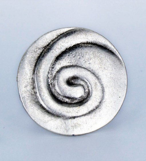 Wholesale silver swirl ring