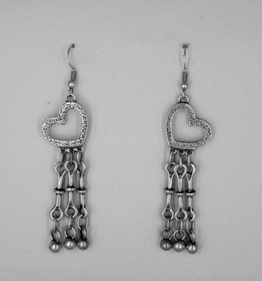 Wholesale heart earrings