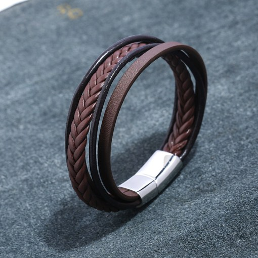 Wholesale quality leather bracelet