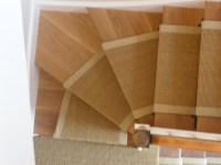 stair runners sisal gold 7.5mx55cm or 65cm