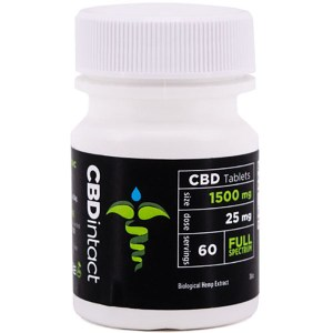 CBDintact Full Spectrum Tablets 1500mg