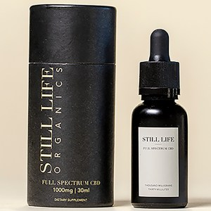 Still Life Full Spectrum CBD Tincture 30ml