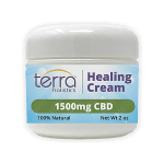 Terra Holistics Broad Spectrum CBD Pain Cream 1500mg 2oz