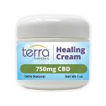 Terra Holistics Broad Spectrum CBD Pain Cream 750mg 1oz