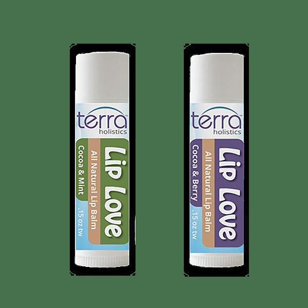 Terra Holistics Lip Balm 2 Group