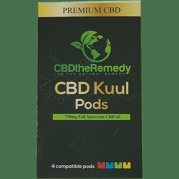 CBD The Remedy CBD Kuul pods