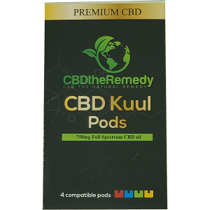 CBD The Remedy CBD Kuul pods