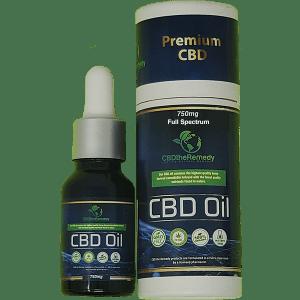 CBD The Remedy Full Spectrum CBD oil