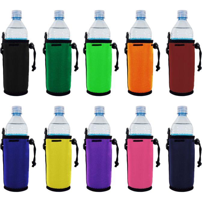 Blank Water Bottle Coolie Variety Color Packs Wholesale