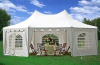 22 x 16 Heavy Duty Party Tent Gazebo - 4 Colors