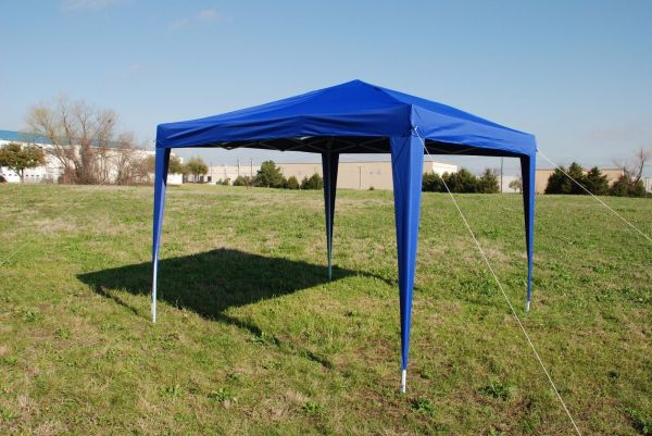 10 X Easy Pop Tent Canopy With 4 Sidewalls - 12 Colors