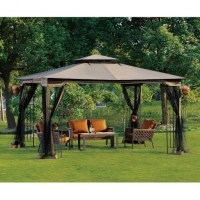 10 x 12 Gazebo Canopy with Mosquito Netting