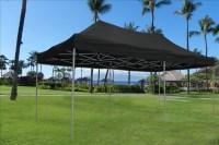 10 x 20 Pop Up Tent Gazebo Canopy w/ 6 Sidewalls - 9 Colors