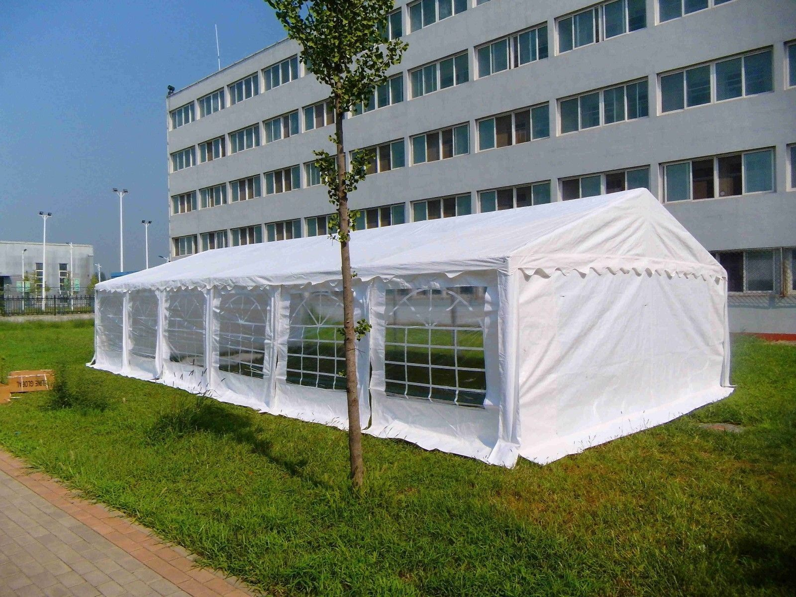 20 x 40 White PVC Party Tent Canopy