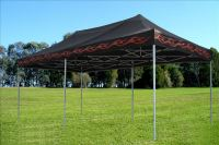10 x 20 Black Flame Pop Up Tent Canopy Gazebo