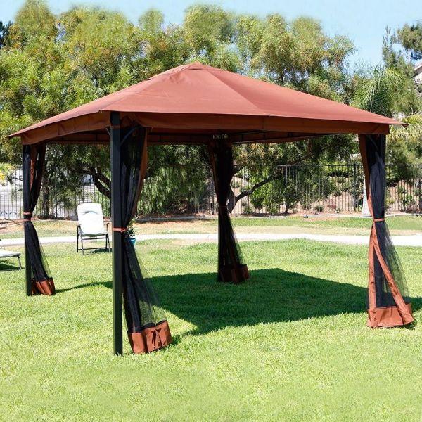 Patio Canopy Gazebo with Mosquito Netting